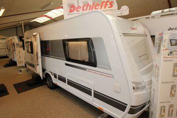 2020 Dethleffs Generation 515 ER – Veludstyret og klar til camping