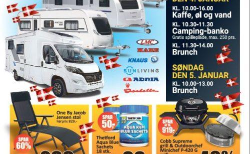 Kronjyllands Camping & Marine Center holder fødselsdagsfest og åbent hus d. 4. og 5. januar 2020