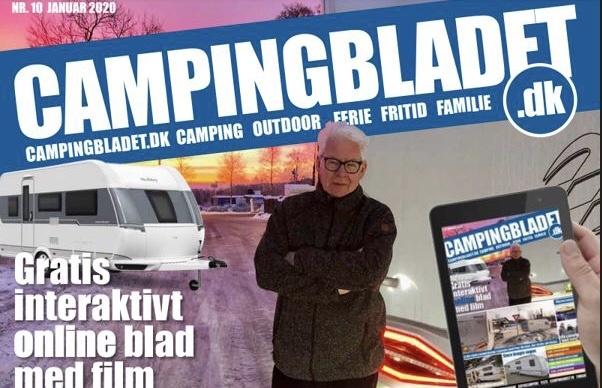 Årets første og eneste gratis campingblad med film i bladet er udkommet (Reklame)
