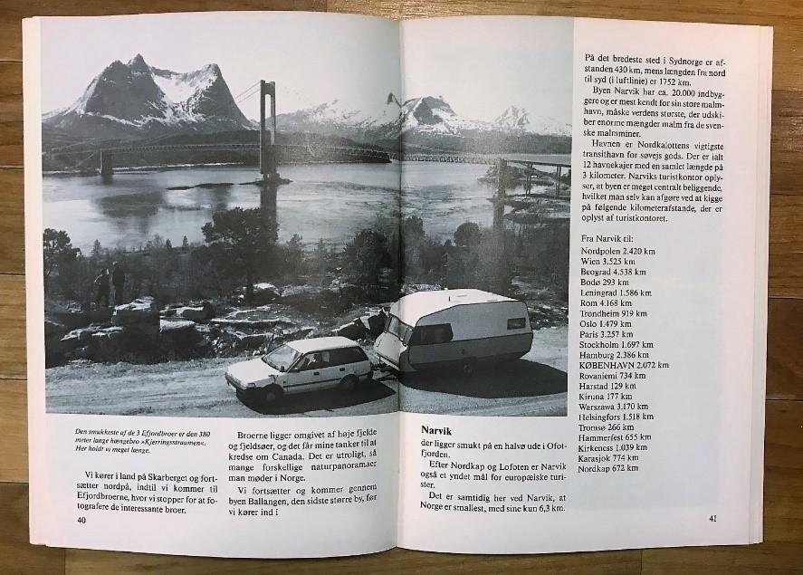 Tur til Nordkapp - 1988 (Reklame)