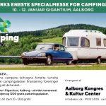 Campingudstilling i Aalborg samt udsalg hos Camping Kim i Viborg og Bije Fritid og Camping i Helsinge