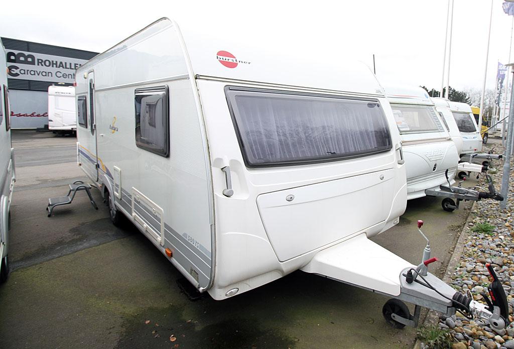 Fem brugte campingvogne fra Caravan Centeret Brohallen (Reklame)