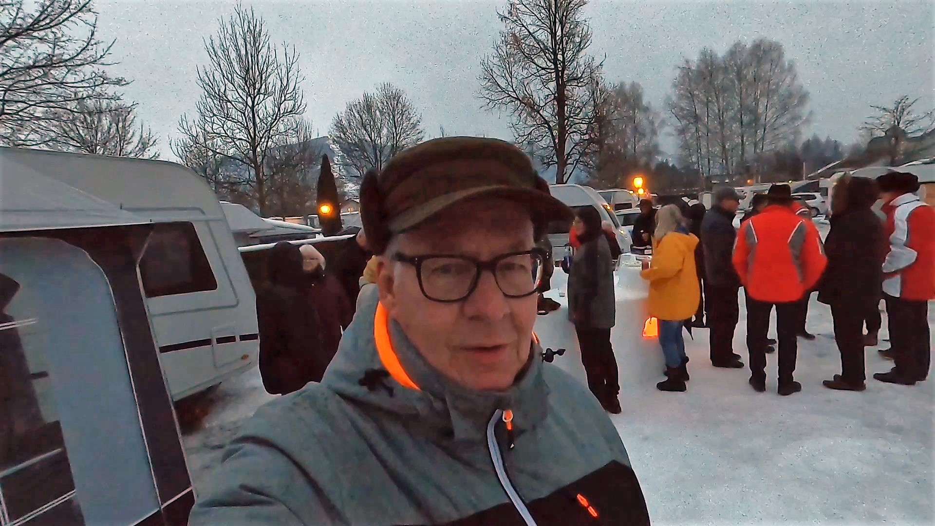 Vintercamping i Østrig - Del 3 - På tur i kreaturvognen