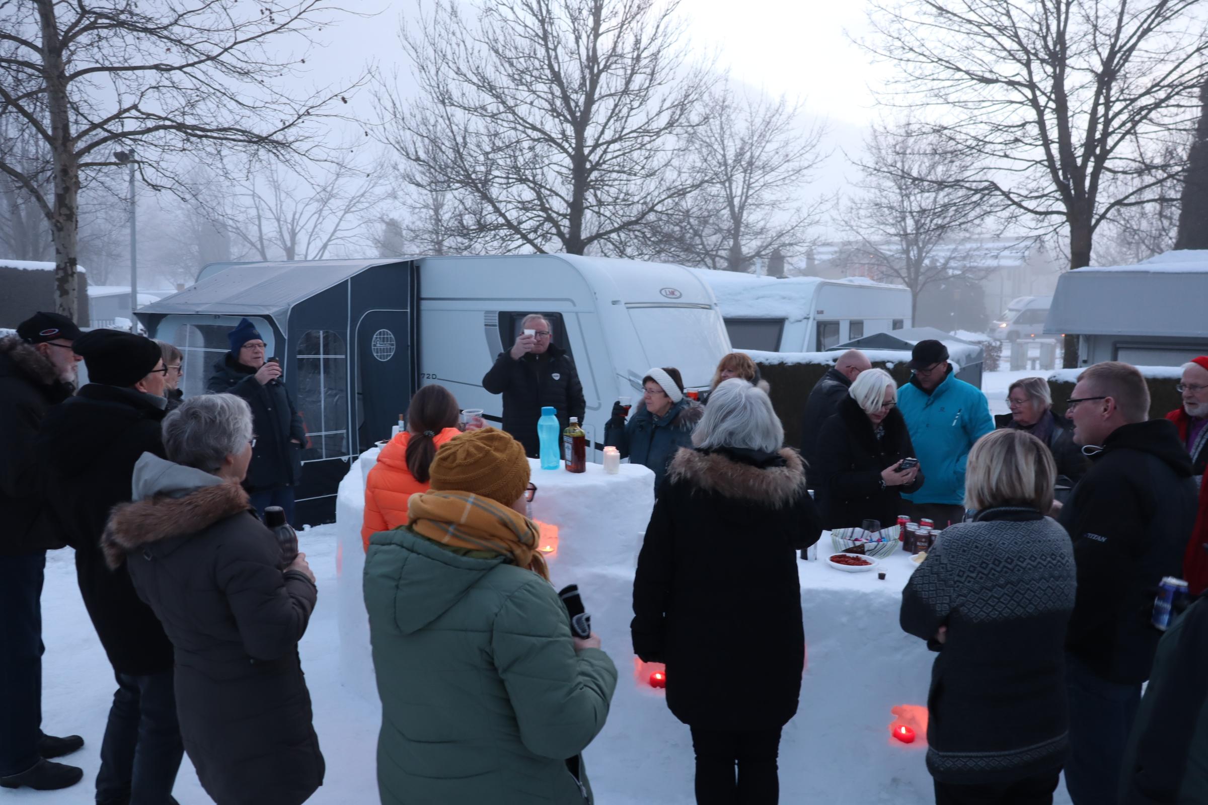 Vintercamping i Østrig - Del 2 (Reklame)