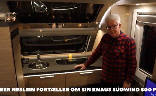 Knaus Südwind 500 PF – Peer Neslein fortæller om sin campingvogn (Film)