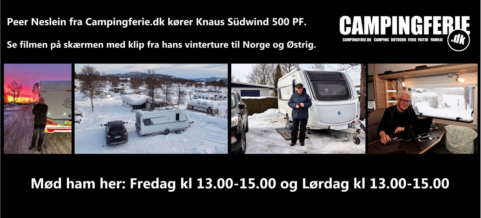 """Mød Peer Neslein og se hans Knaus Südwind på """"Ferie for Alle"""" (Reklame)"""