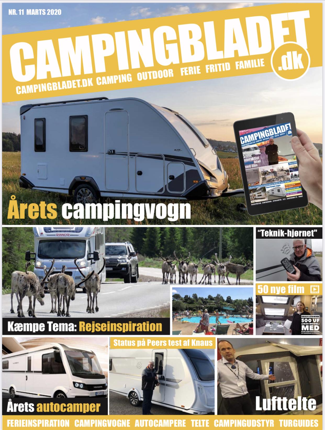 Så er Campingbladet.dk udkommet - Læs det her (Reklame)