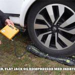 Peer Neslein fortæller om sin Enduro Mover, Flat Jack niveau luftpude og kompressor (film) (Reklame)