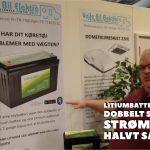 Lihtium batteri er fremtidens fritidsbatteri – se hvorfor