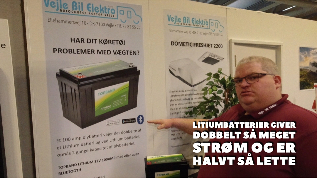 Lihtium batteri er fremtidens fritidsbatteri - se hvorfor (Reklame)