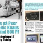 Hvordan klarede Peers Knaus vintermånederne med blæservarme