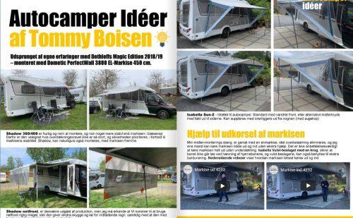 Autocamper Tips og Tricks af Tommy Boisen