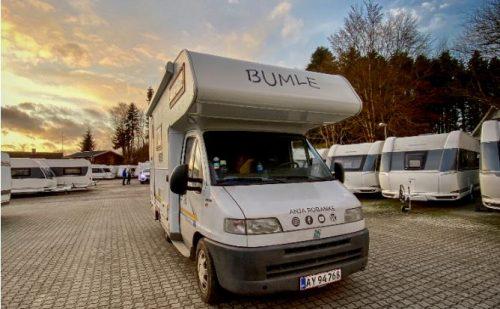Hola Spanien – reportage fra Anja Robanke der bor og arbejder i sin autocamper (Reklame)