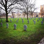 Krigergrave på Vestre kirkegård i København