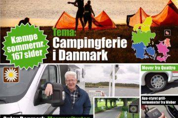 Så er www.campingbladet.dk på gaden – 167 sider med kæmpe tema på Danmark og masser af camping