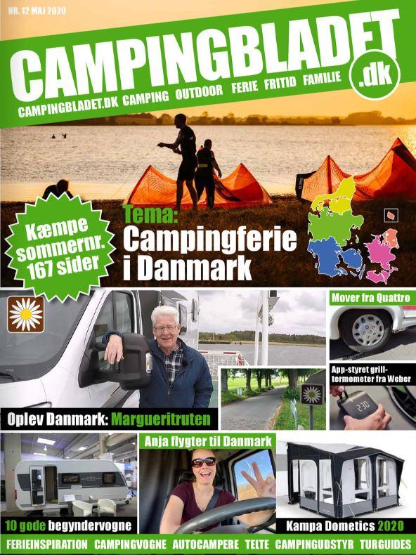 167 sider med kæmpe tema på Danmark og masser af camping