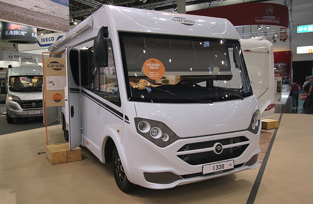2020 Carado I 338 All-In pakke – 7 meters med enkeltsenge (Reklame)