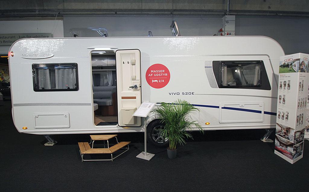 2020 LMC Vivo 520 E – Populær indretning med god plads (Reklame)
