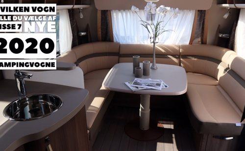 Hvilken vogn vil du vælge af disse 7 nye 2020 campingvogne