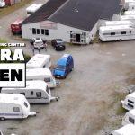 Fredensborg Camping Center set fra luften