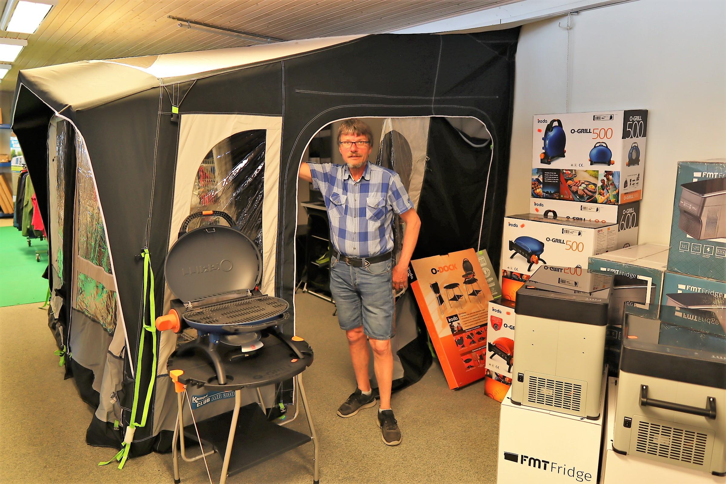 Populært udstyr til campingferien fra Fredensborg Camping Center (Reklame)