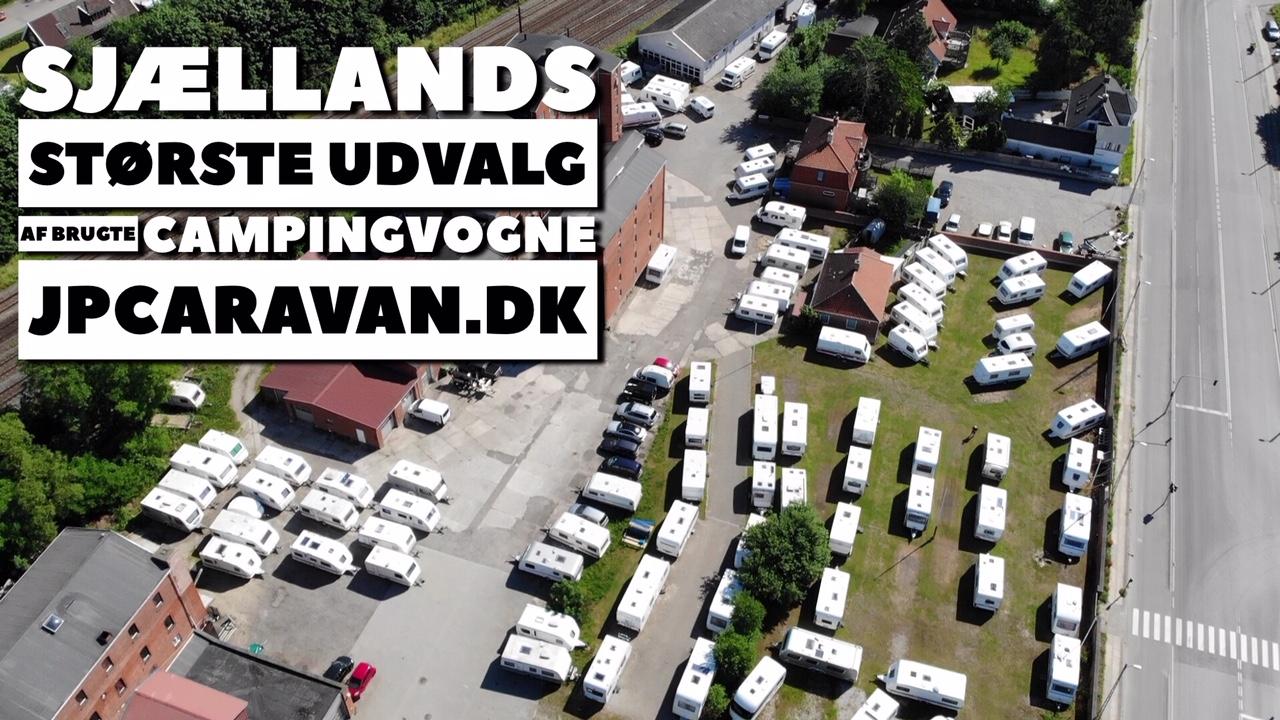 Sjællands største udvalg af brugte campingvogne (Reklame)