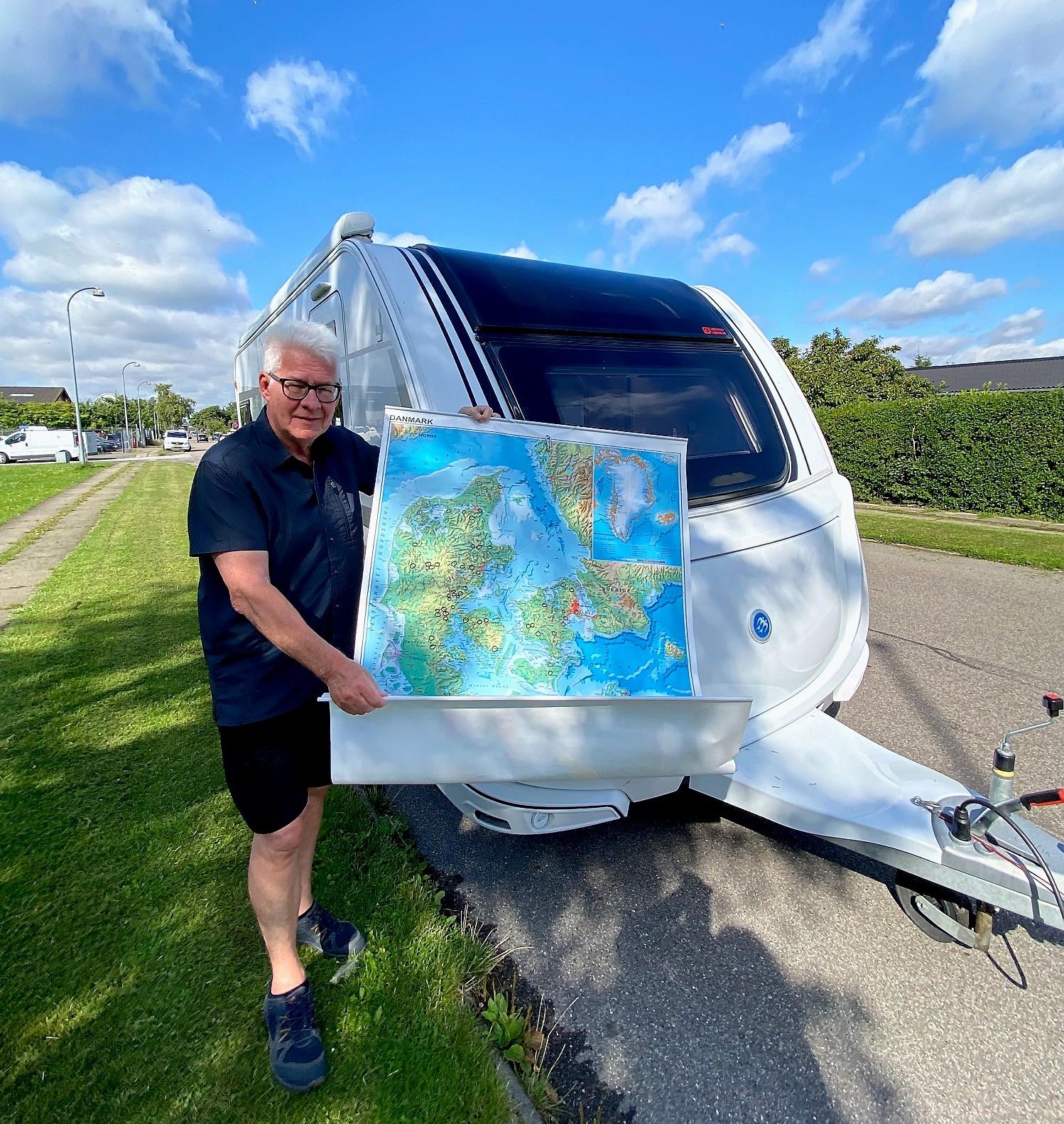 Campingferie i Danmark er skønt - uanset vejret
