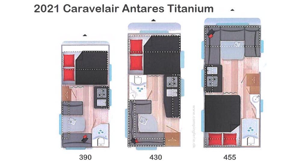 2021 Caravelair Antares Titanium 430