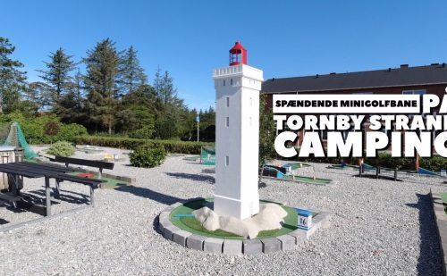 Spændende ny minigolfbane på Tornby Strand Camping