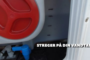 Tips & Tricks – Streger på vandtanken
