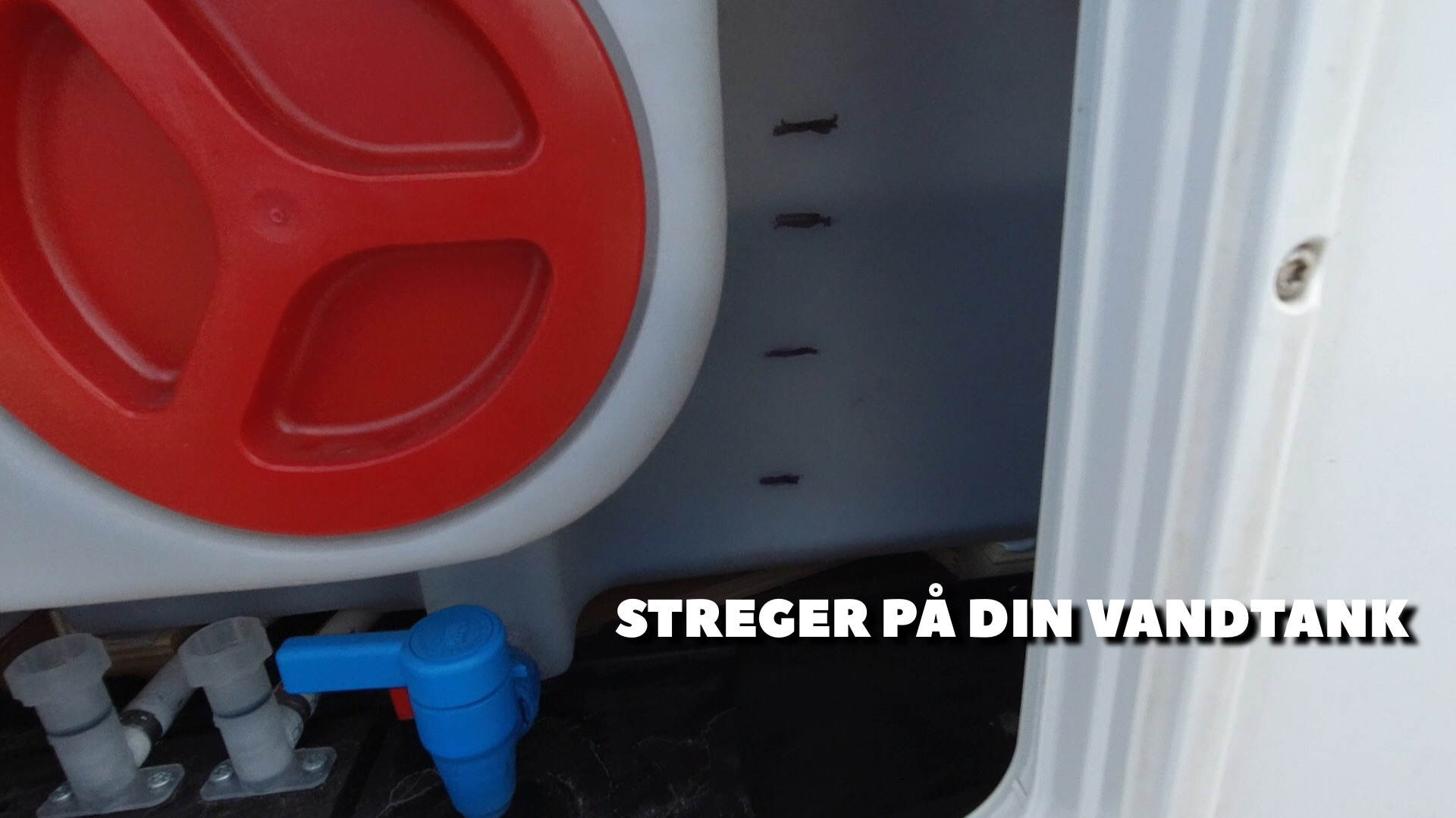Tips & Tricks - Streger på vandtanken + film