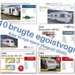 10 brugte egoistvogne – Klar til nye ejere