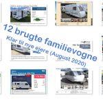 12 brugte familievogne – Klar til nye ejere