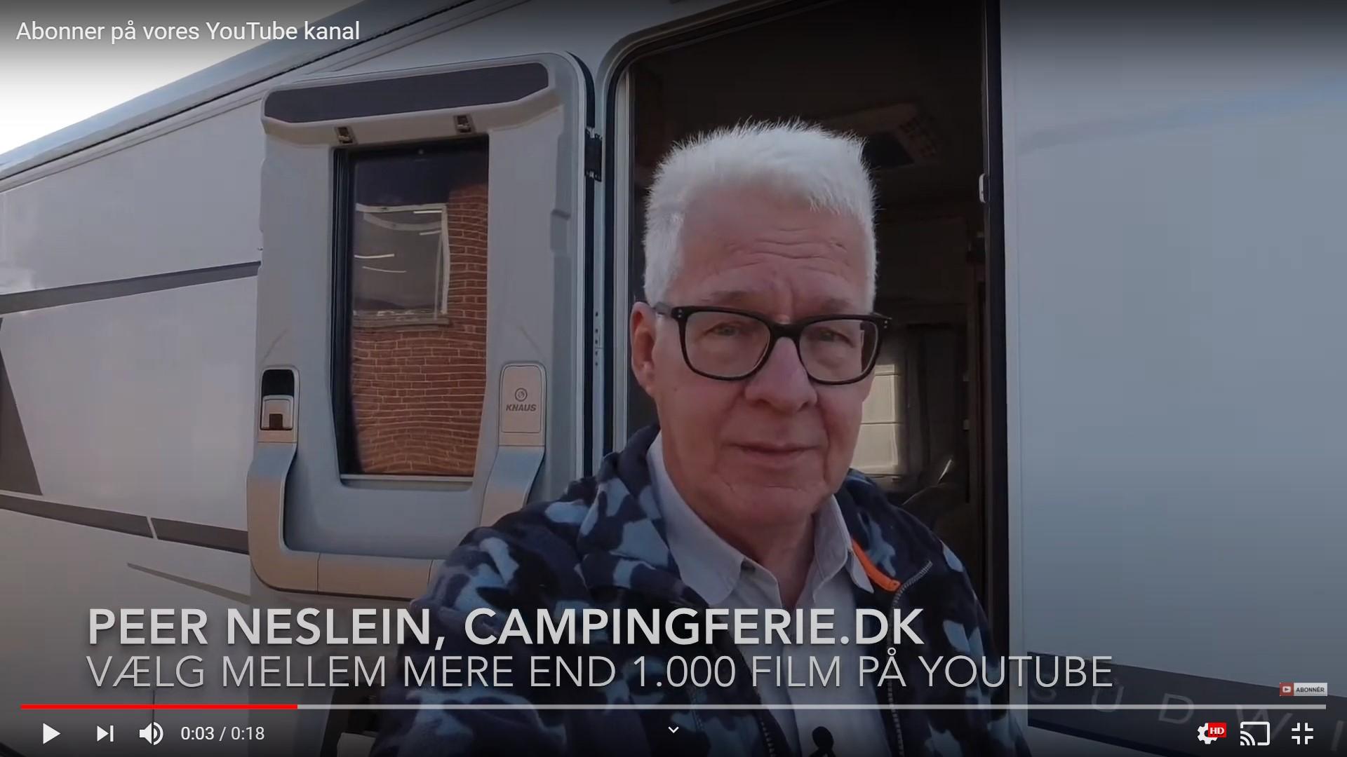 Få automatisk besked når Campingferie.dk har lavet en ny film