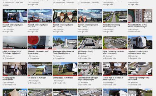 152 nye film fra Campingferie.dk det sidste år – vælg mellem 1.000 film
