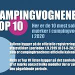 Campingvognenes Top 10 i 2020