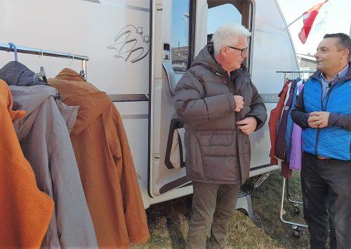 Tuxer tøj til vinterens campingture