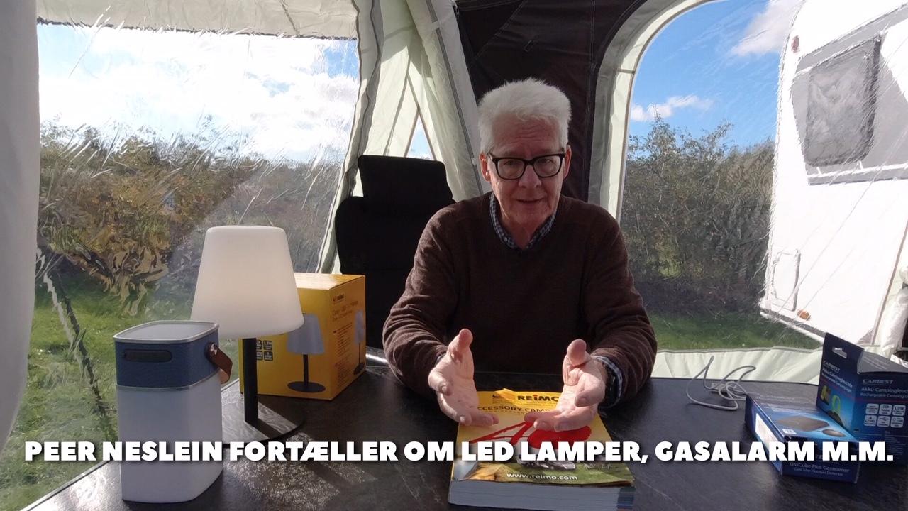 Led lamper, gasalarm, vandtæt bluetooth højttaler og gratis 1.000 siders katalog fra JPCaravanshop.dk (Reklame)