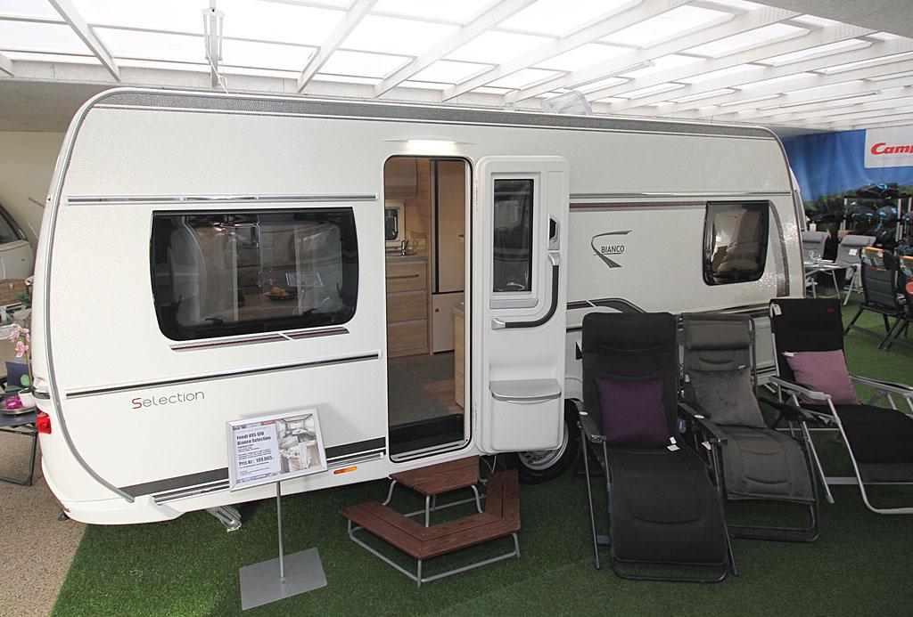 2021 Fendt Bianco Selection 465 SFB – 5 m egoistvogn med fransk soveværelse (Reklame)