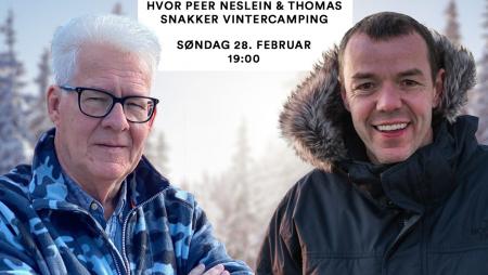 Vintercamping – Live på søndag den 28. februar 2021