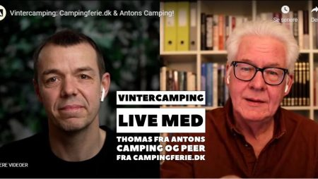 """Se """"Vintercamping Live"""" udsendelsen her"""