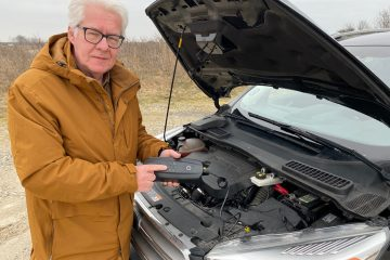 Dødt batteri og ingen 230volt  –  Start din bil med CS Free hvor du holder (Reklame)