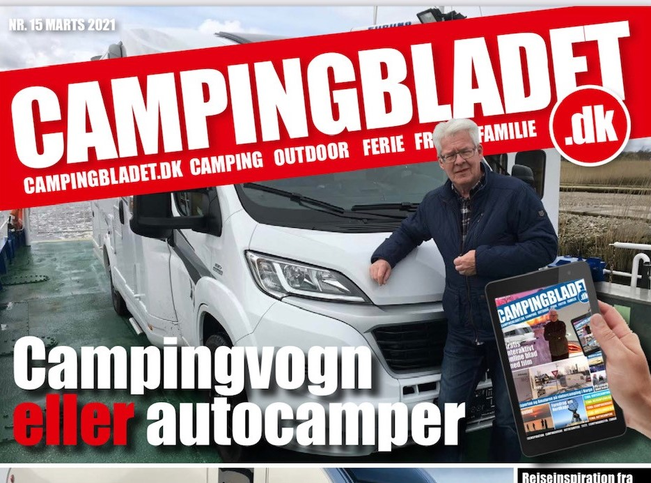 Så er Campingbladet udkommet - 116 sider + 30 film - Gratis