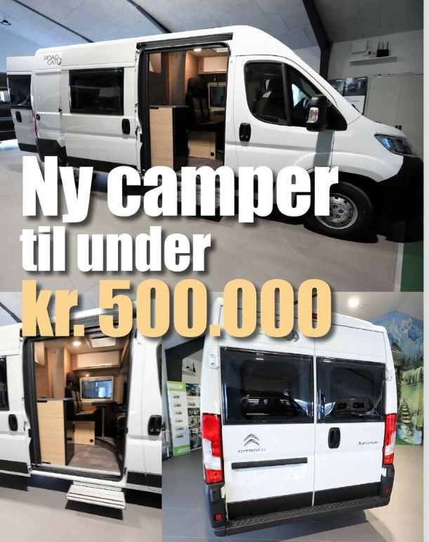 Ny camper til under kr. 500.000 (Reklame)