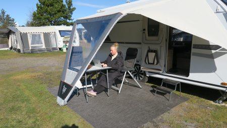 Campingtur med rabat på overnatning og test af 4 solsejl – del 3 + film (Reklame)