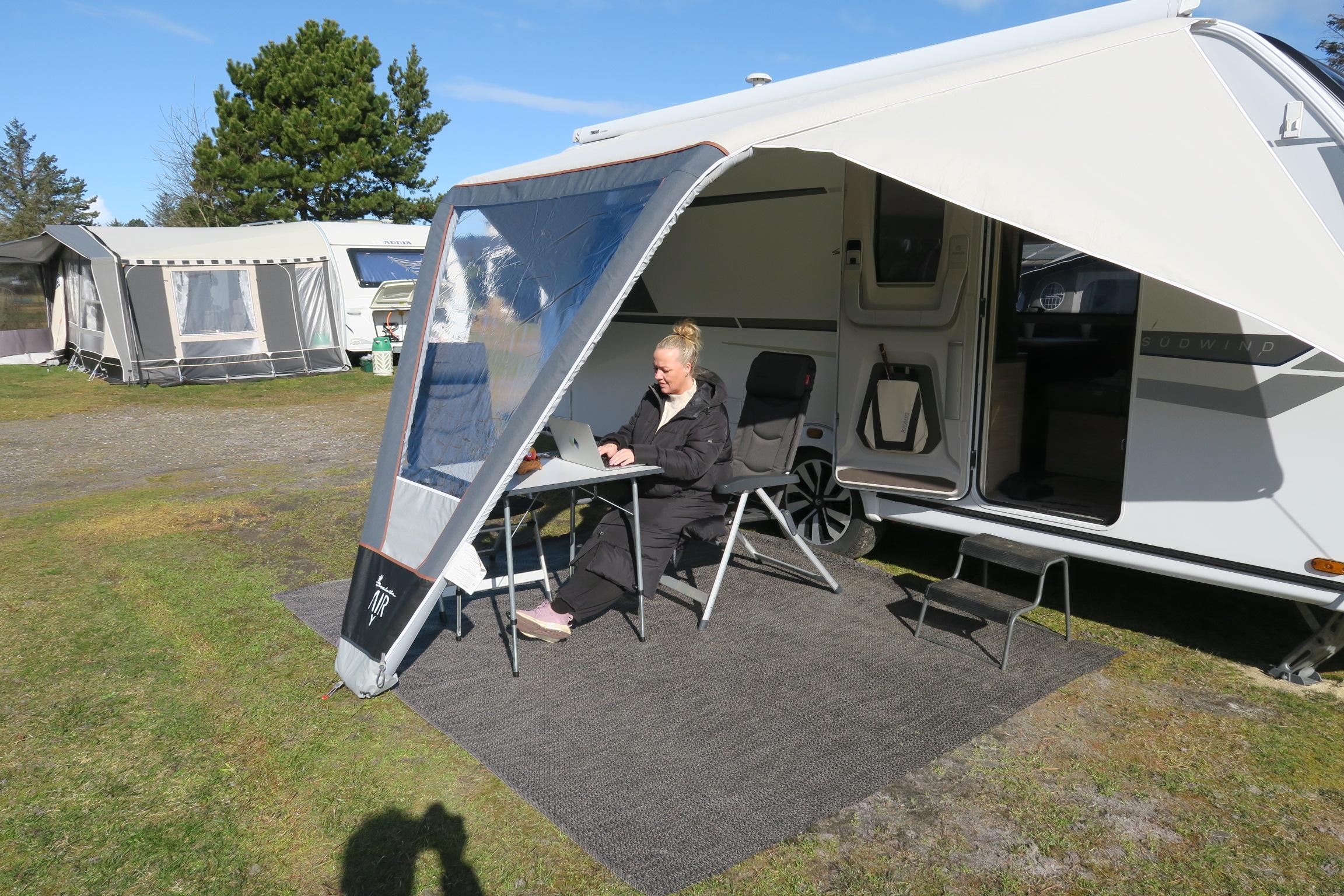Campingtur med rabat på overnatning og test af 4 solsejl - del 3 + film (Reklame)
