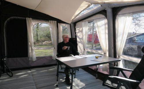 Peer Neslein tester Dometic Club Air Pro 390