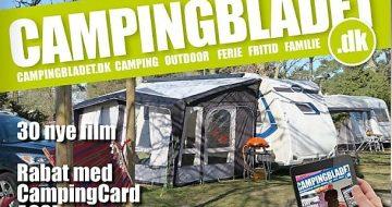 Så kom sommerudgaven af www.campingbladet.dk - med 42 film