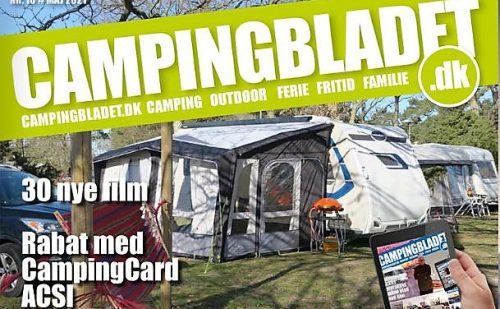 Så kom sommerudgaven af www.campingbladet.dk – med 42 film