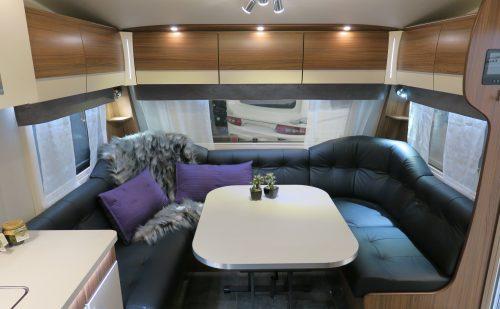 Polar luksus campingvogne hos Hinshøj Caravan